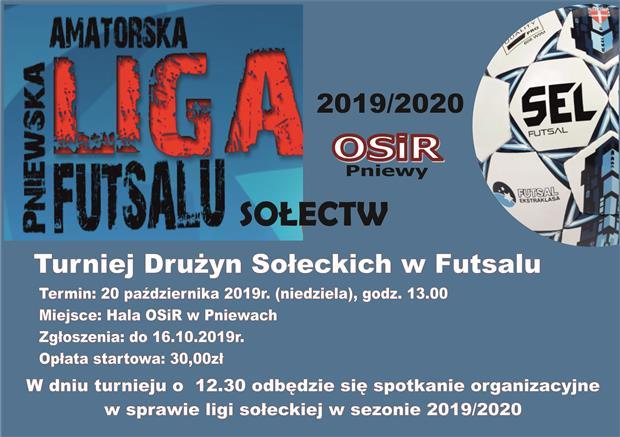 Turniej sołectw wfutsalu-20.10.2019